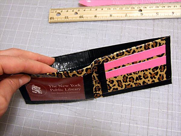 diy duct tape wallet tutorial