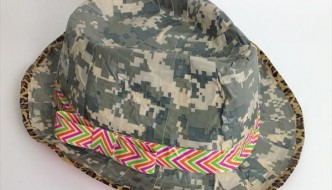 DIY Duct Tape Crazy Hat Tutorial