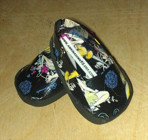 handmade duct tape shoes