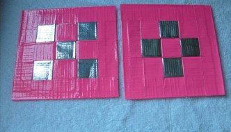 DIY Duct Tape Coasters