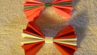 DIY Duct Tape Hair Barrettes / Bows