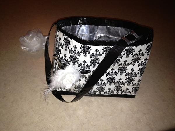 diy duct tape purse
