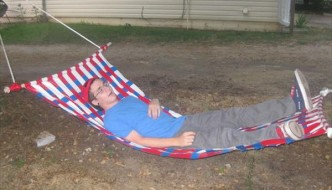 diy handmade duct tape hammock