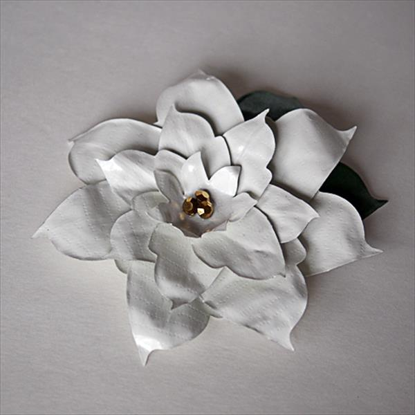 chic duct tape Poinsettia flower